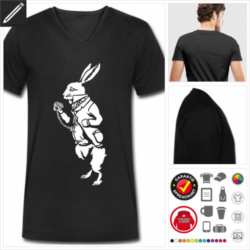 Wunderland T-Shirt personalisieren