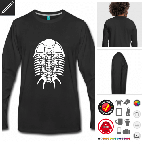 Fossil T-Shirt zu gestalten