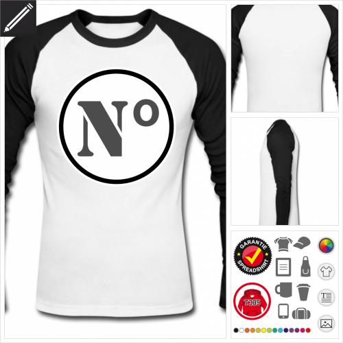 official photos 9d347 6f9f7 Gestalte dein Sport T-Shirt. Nummer Design. Zahlen T-Shirts
