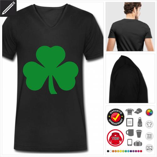 St Patricks Day T-Shirt selbst gestalten. Druck ab 1 Stuck