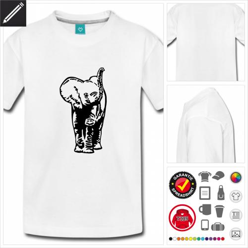 basic Elefanten T-Shirt selbst gestalten