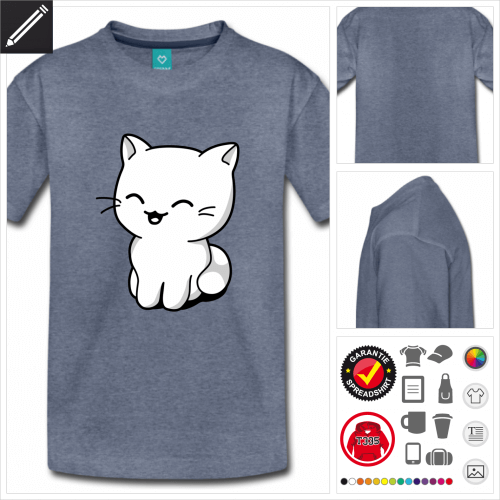 Kätzchen T-Shirt personalisieren