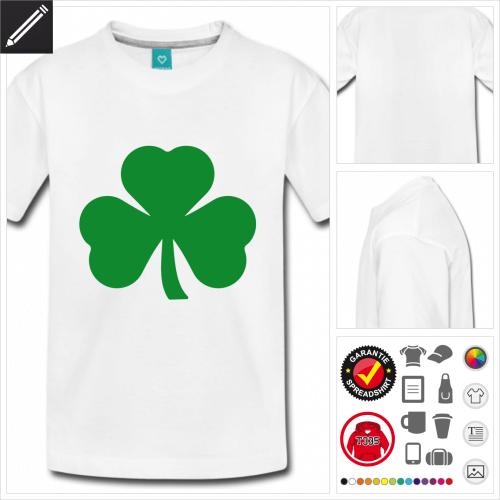 basic St Patricks Day T-Shirt online zu gestalten