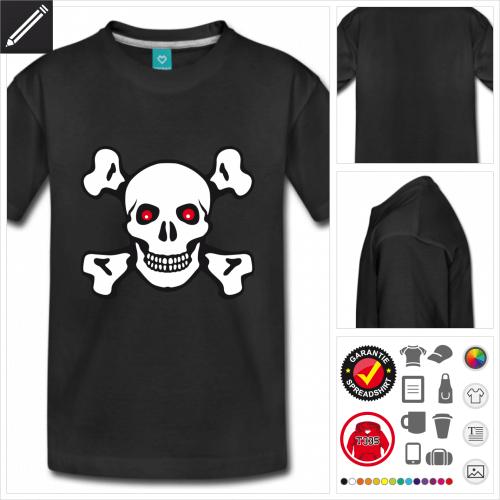 basic Pirat T-Shirt zu gestalten