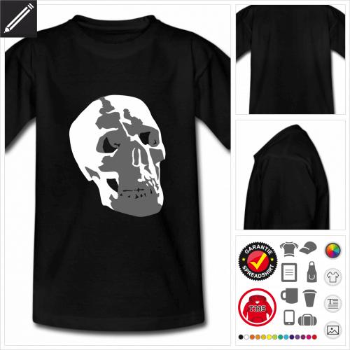 Pirat Kurzarmshirt online zu gestalten