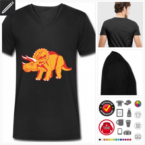 Dinosaurier T-Shirt zu gestalten
