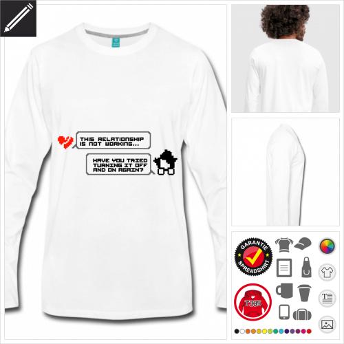 Nerds T-Shirt online gestalten