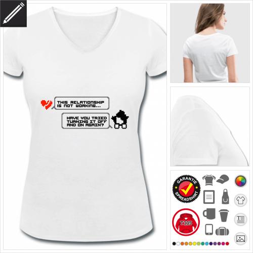 Nerds T-Shirt personalisieren