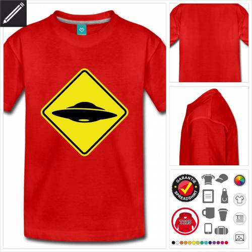 Teenager Verkehrsschild T-Shirt zu gestalten