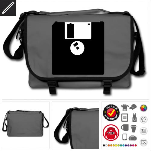 Retrogaming Tasche personalisieren
