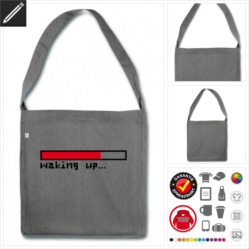 Shopper Leiste Tasche selbst gestalten. Druck ab 1 Stuck