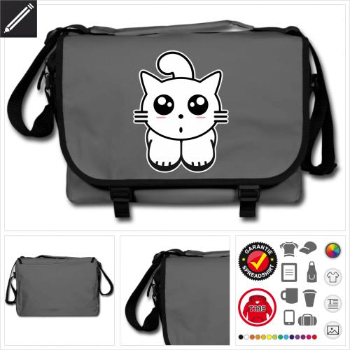 Katze Tasche personalisieren
