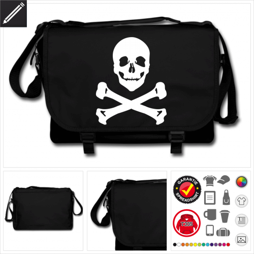 Pirat Tasche zu gestalten