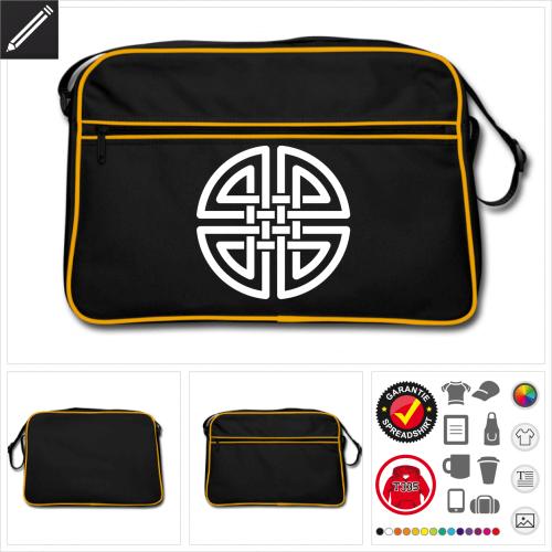 Keltisch Sporttasche online zu gestalten