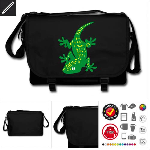 Gecko Tasche online gestalten