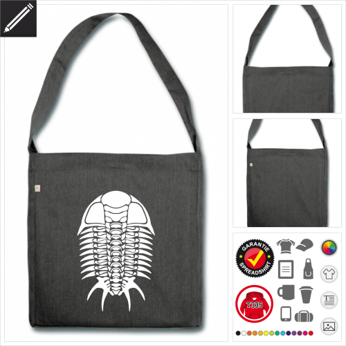 Shopper Geek Tasche online Druckerei, höhe Qualität