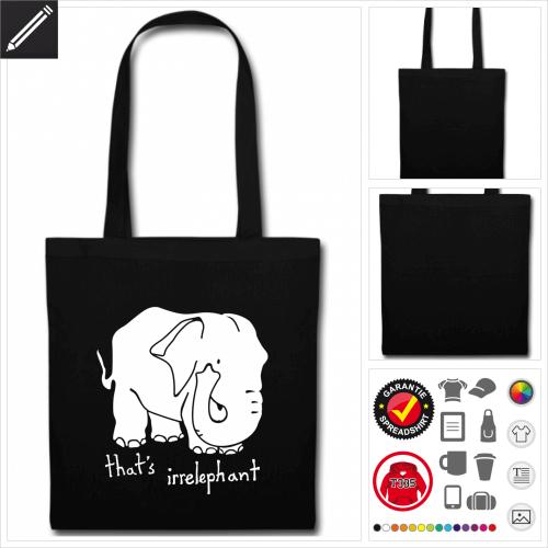 Elefant Shopper online gestalten